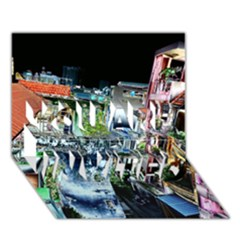 Colour Street Top YOU ARE INVITED 3D Greeting Card (7x5)