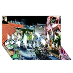 Colour Street Top #1 Mom 3d Greeting Cards (8x4)
