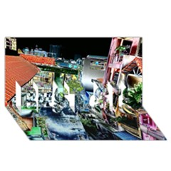 Colour Street Top BEST SIS 3D Greeting Card (8x4)