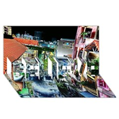 Colour Street Top BELIEVE 3D Greeting Card (8x4)