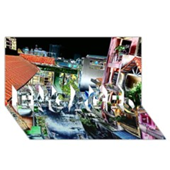 Colour Street Top ENGAGED 3D Greeting Card (8x4)