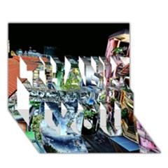 Colour Street Top Thank You 3d Greeting Card (7x5)