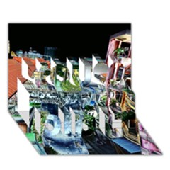 Colour Street Top You Did It 3d Greeting Card (7x5)