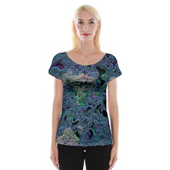 The Others 2 Women s Cap Sleeve Top