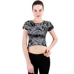 The Others 1 Crew Neck Crop Top