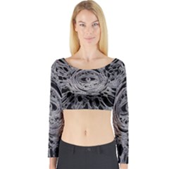 The Others 1 Long Sleeve Crop Top