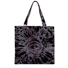 The Others 1 Zipper Grocery Tote Bags