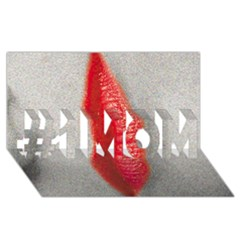 Lips #1 Mom 3d Greeting Cards (8x4)