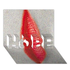 Lips Hope 3d Greeting Card (7x5)