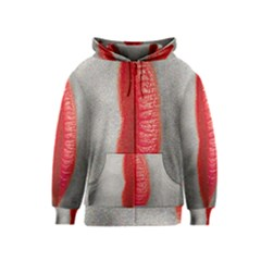 Lips Kids Zipper Hoodies