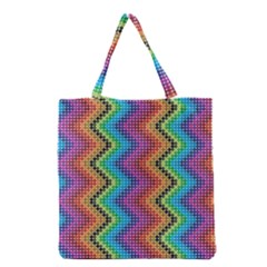 Aztec 3 Grocery Tote Bags