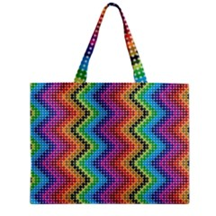 Aztec 3 Zipper Tiny Tote Bags