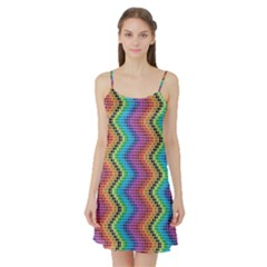 Aztec 3 Satin Night Slip