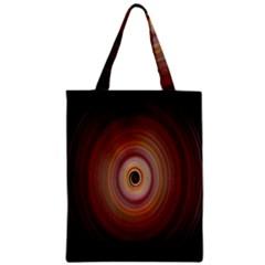 Colour Twirl Zipper Classic Tote Bags