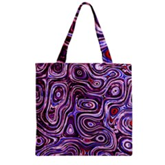 Colourtile Zipper Grocery Tote Bags