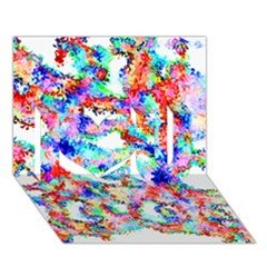 Soul Colour Light I Love You 3D Greeting Card (7x5)
