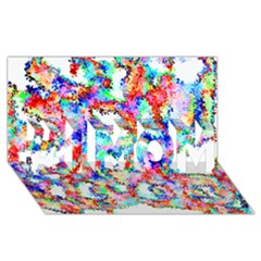 Soul Colour Light #1 MOM 3D Greeting Cards (8x4)