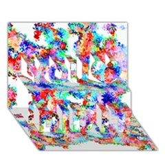 Soul Colour Light You Did It 3d Greeting Card (7x5)