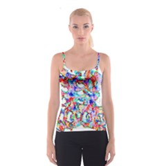 Soul Colour Light Spaghetti Strap Tops