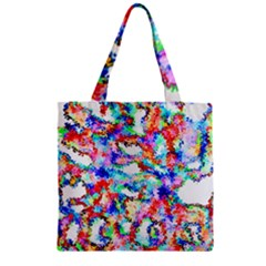 Soul Colour Light Zipper Grocery Tote Bags