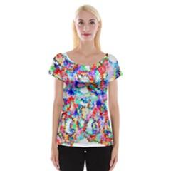 Soul Colour Light Women s Cap Sleeve Top