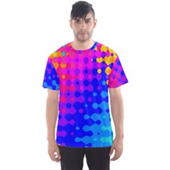 Totally Trippy Hippy Rainbow Men s Sport Mesh Tees