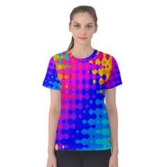 Totally Trippy Hippy Rainbow Women s Cotton Tees