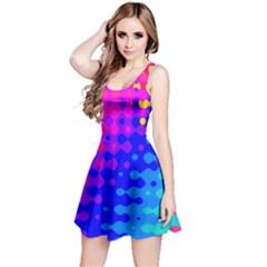 Totally Trippy Hippy Rainbow Reversible Sleeveless Dresses