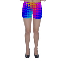 Totally Trippy Hippy Rainbow Skinny Shorts