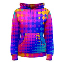 Totally Trippy Hippy Rainbow Women s Pullover Hoodies