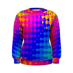 Totally Trippy Hippy Rainbow Women s Sweatshirts
