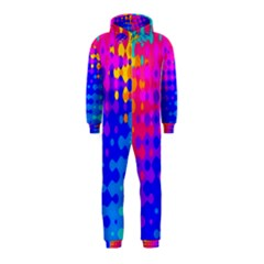 Totally Trippy Hippy Rainbow Hooded Jumpsuit (Kids)