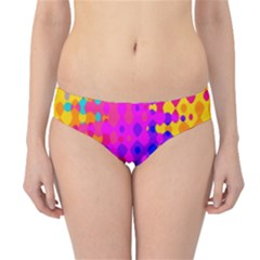 Totally Trippy Hippy Rainbow Hipster Bikini Bottoms