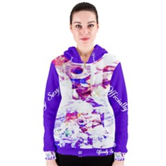 Officially Sexy Candy Collection Purple Women s Zipper Hoodie