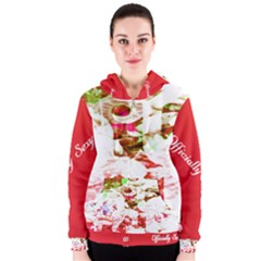 Officially Sexy Candy Collection Red Women s Zipper Hoodie