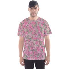 Pinkbunnyflage Men s Sport Mesh Tees