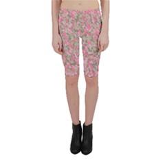 Pinkbunnyflage Cropped Leggings