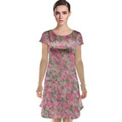 Pinkbunnyflage Cap Sleeve Nightdresses