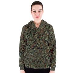 Duckyflage Women s Zipper Hoodies