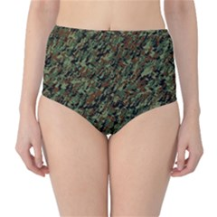 Duckyflage High-Waist Bikini Bottoms