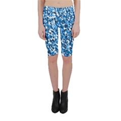 Bluebunnyflage Cropped Leggings