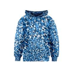 Bluebunnyflage Kid s Pullover Hoodies
