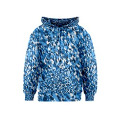 Bluebunnyflage Kids Zipper Hoodies