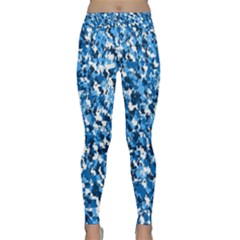 Bluebunnyflage Yoga Leggings