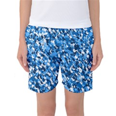 Bluebunnyflage Women s Basketball Shorts