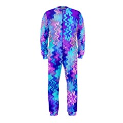 Blue and Purple Marble Waves OnePiece Jumpsuit (Kids)
