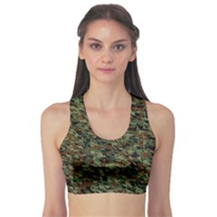 Goatflage Sports Bra