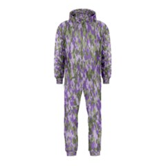 Purplebunnyflage Hooded Jumpsuit (Kids)