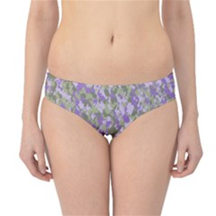 Purplebunnyflage Hipster Bikini Bottoms