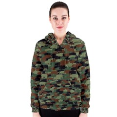 Piggyflage Women s Zipper Hoodies